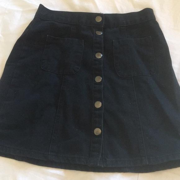 9e64677ed2 BDG Dresses & Skirts - BDG black jean skirt